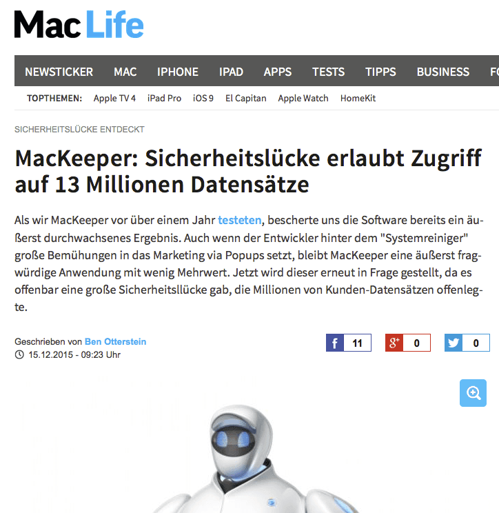 mackeeper info macconsult apple computer m nchen it systemhaus. Black Bedroom Furniture Sets. Home Design Ideas